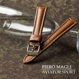 Ремешок Piero Magli Aviator Sport Vitello AD CT 04622207-24